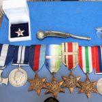 Lt F R Johnson DSC DSM RNVR medals