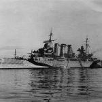 HMS Kent 1944