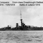 HMS Conqueror WWI