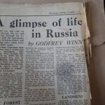 An extract from the Sunday Express, November 1942