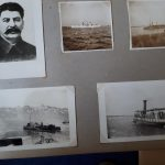 From a photo album of pictures shipboard and ashore from the voyage of La Malouine