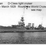 HMS Durban 1926-29 World Cruise