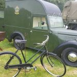 The last remaining Austin 8 NAAFI Van 'Bertie'