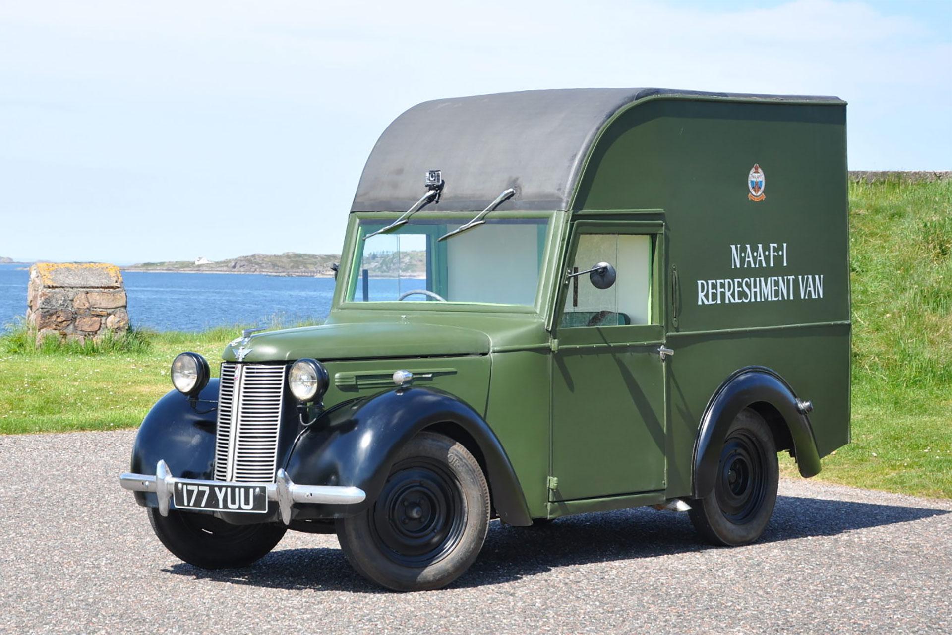 Bertie the NAAFI Van