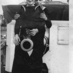 Bill Grier (in front with the kitten)