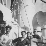 William Snape with shipmates