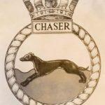 HMS Chaser crest