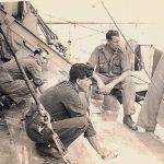 Dhopping firm doing hammocks 1942