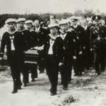 A burial party from the Graf Spee