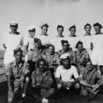 Frank Moran and some unknown Mercantile Marine sailors