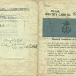 Harry Beedle Naval Identity Card 2