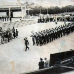 On parade in June 1943