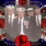 With fellow convoy veterans