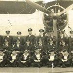 824 Squadron aboard HMS Striker, 1942/1943 (John is the only one wearing dark glasses top left corner)