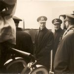 King George VI, Admiral Tovery, Admiral Frazer, Lord Alexander, Chief of Land Forces