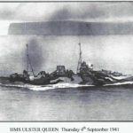 HMS Ulster Queen 4th September 1941