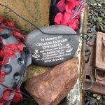 Memorial at Loch Ewe