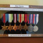 Alan's medals
