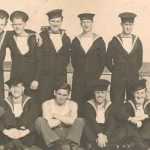 Some of the crew of HMS Obedient