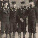 HMS Vindex crew