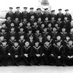New Zealanders of the shore-based No 2 Mess, Blake Division, HMS Ganges, Shotley, Suffolk in 1941