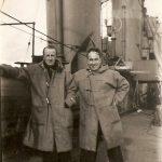 On deck of HMS Anson