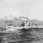 HMS Paynter in Iceland 1943