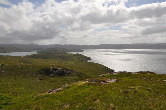 Loch Ewe and Tournaig bay
