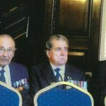 Sid Tiffin (centre) at the Russian Embassy 2012