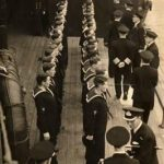 An inspection by King George VI