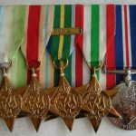 Terrence's medals