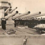 Guns on HMS Anson