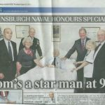 Tom Burke featured in the Helensburgh Advertiser