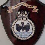 813 Squadron crest