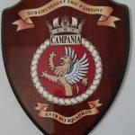 HMS Campania crest