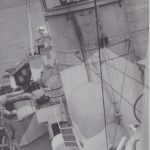 Leonard H. Thomas standing on the starboard and facing aft looking towards the stern of the ship