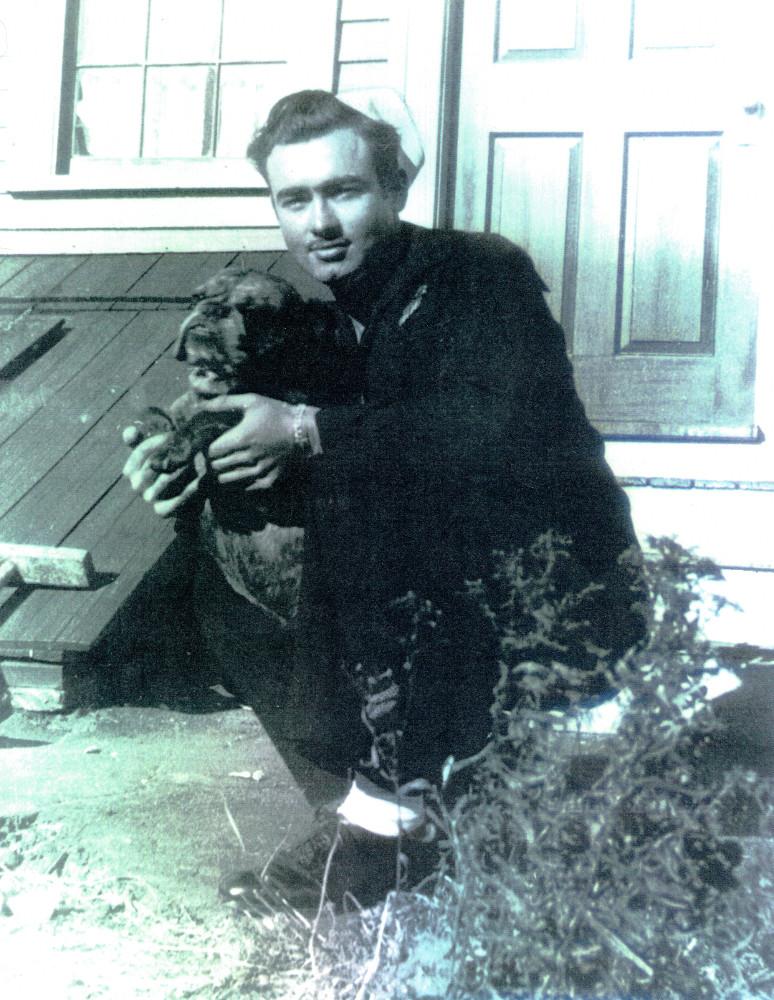 Dick Burbine in 1945