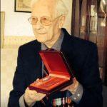 Receiving the Medal of Ushakov