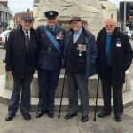 Les Wilkinson 2nd Left with a few Veterans