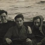 George Young with shipmates