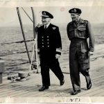Rear Admiral McGrigor and Monty