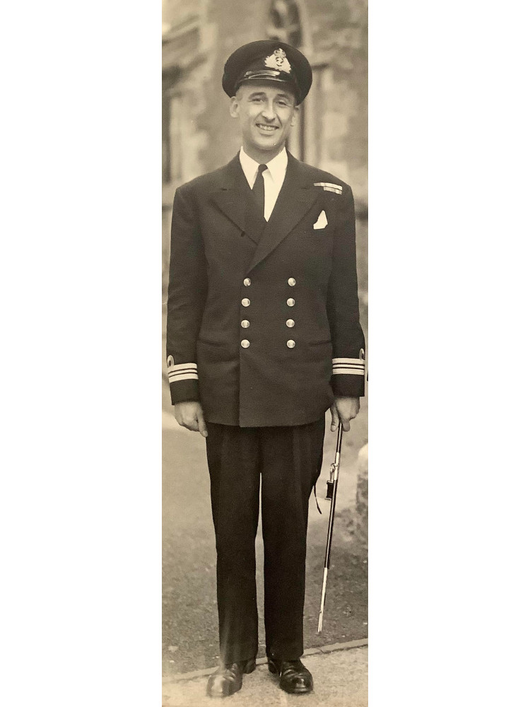 Philip Shenton, taken on his wedding day in 1947.